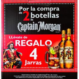 Promocaja Capitan Morgan Spiced
