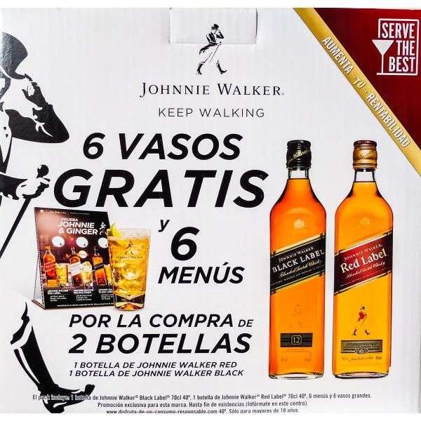 Johnnie Walker Promobox