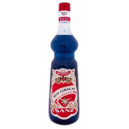Blue Curaçao Syrup Sanz