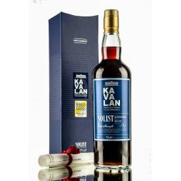 Kavalan Solist Vinho Barrique Cask Strength Boxed Bottle