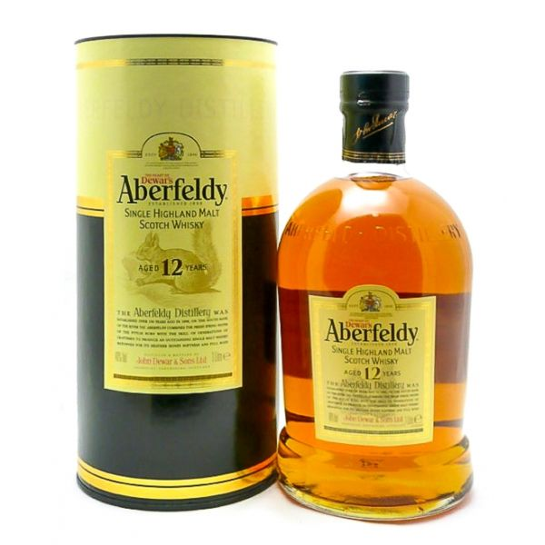 Aberfeldy 12 Years Boxed Bottle