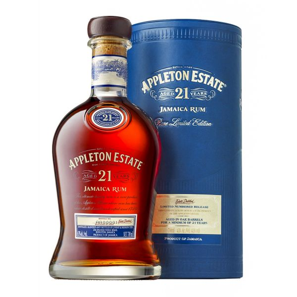Appleton Estate 21 Years Boxed Bottle