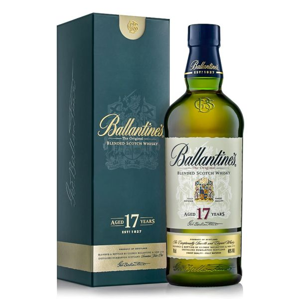 Ballantine's 17 years Boxed Bottle