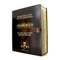 Estuche Grimbergen Libro 4 Botellas + Copa