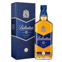 Ballantine's Blue 12 Years Boxed Bottle