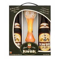 Estuche Pauwel Kwak 2 Botellas + Vaso