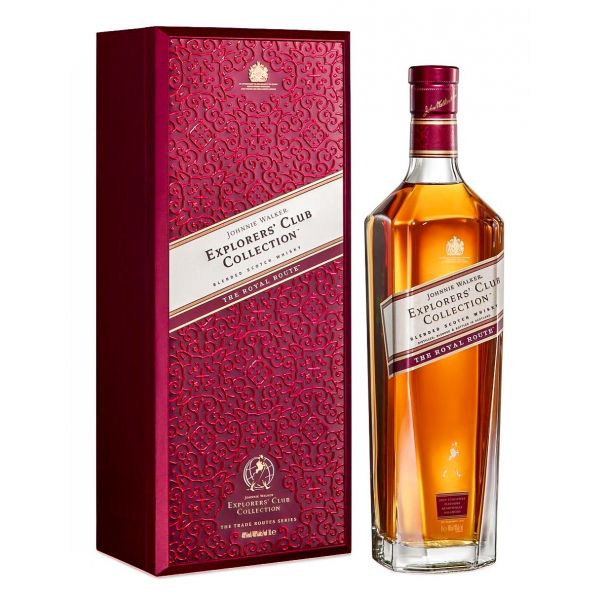 Johnnie Walker Explorers Club The Royal Route Estuchado