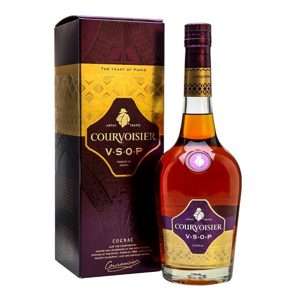 Courvoisier V.S.O.P. Boxed Bottle