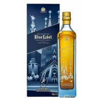 Johnnie Walker Blue Label Limited Edition Barcelona Boxed Bottle