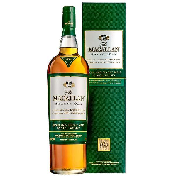 Macallan Select Oak Boxed Bottle