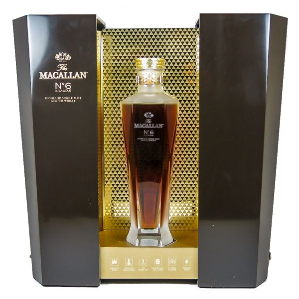 The Macallan Nº 6 In Lalique Boxed Bottle