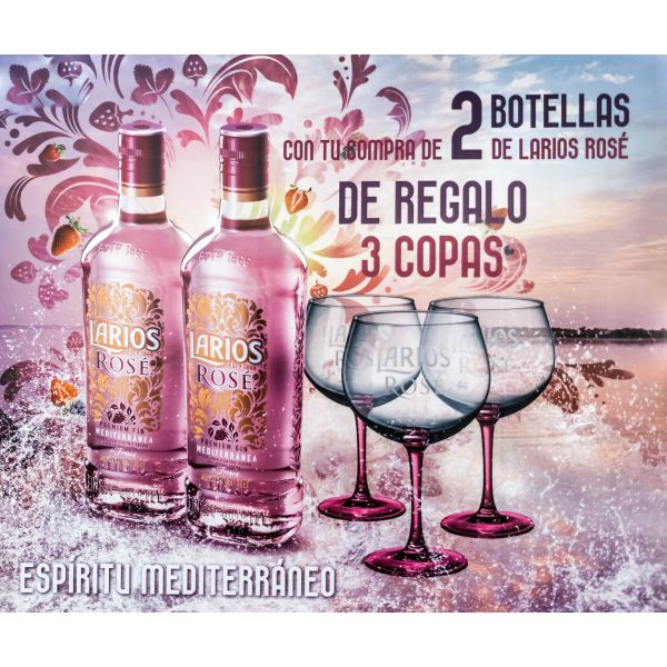 Larios Rose Promobox