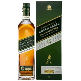 Johnnie Walker Green Label 15 Years Boxed Bottle