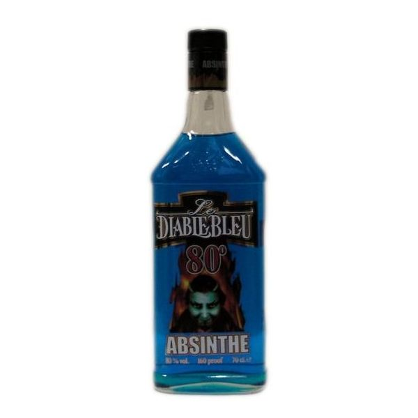 Absinthe Diable Bleu
