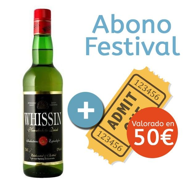 Whissin (Alcohol Free) + Los Alamos Beach Festival 2019 Ticket