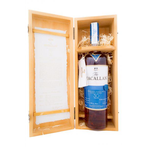 Macallan 30 Years Boxed Bottle