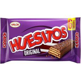 Huesitos Original Chocolate covered wafer bars