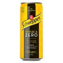 Schweppes Tonic Zero Can