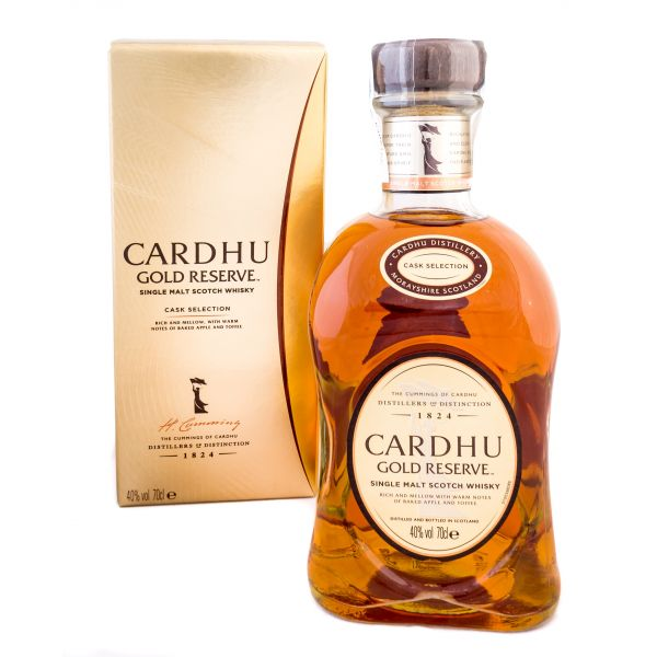 Cardhu Gold Reserve Boxed Bottle