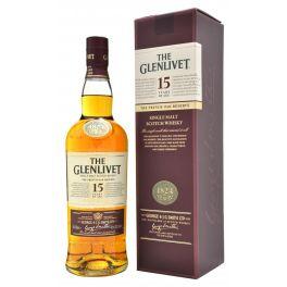 The Glenlivet 15 Years Boxed Bottle