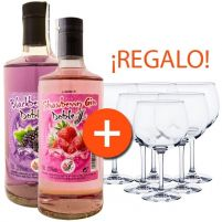 Promo Strawberry Blackberry Gin Jota & Jota