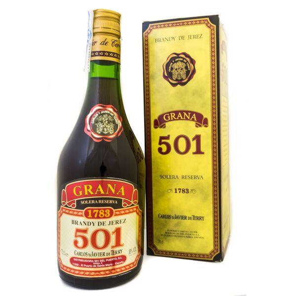 501 Grana Solera Reserva Estuchado
