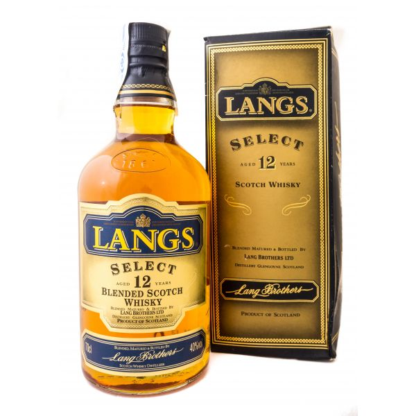 Langs Select 12 Años Estuchado