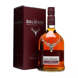 The Dalmore 12 Years Boxed Bottle