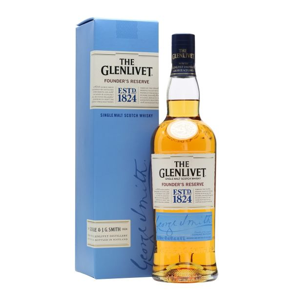 The Glenlivet Founder's Reserve Boxed Bottle