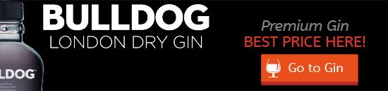 Buy Bulldog gin at the best price