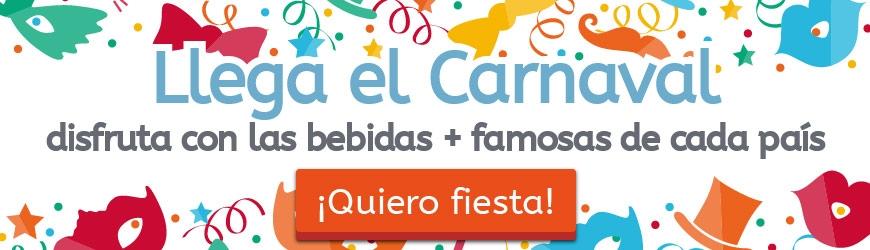 ¡Llega el Carnaval! Disfruta con las bebidas + famosas de cada país