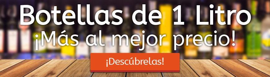 Botellas de 1Litro ¡Más a mejor precio!