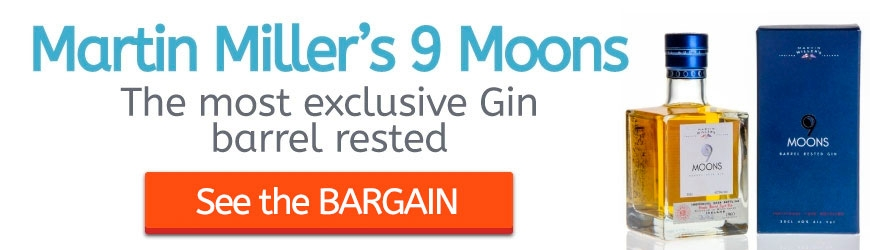 Martin Miller's 9 Moons: The most exclusive Gin barrel rested