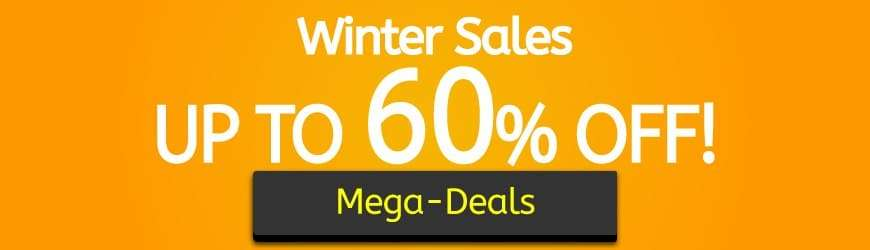 Winter Sales. Up to 60% Off