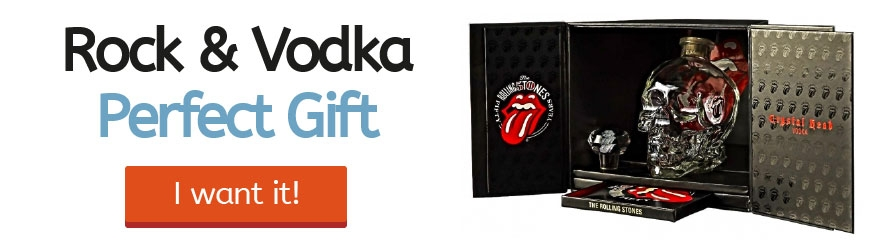 Vodka Crystal Head Rolling Stone Deal